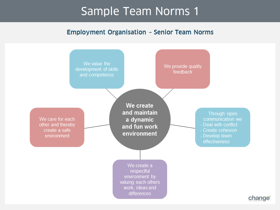 Sample Team Norms 1