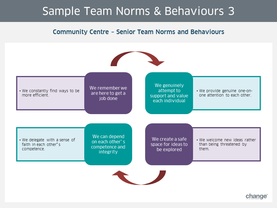Sample Team Norms & Behaviours 3
